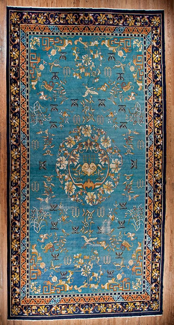 Large Semi-Antique Chinese Carpet