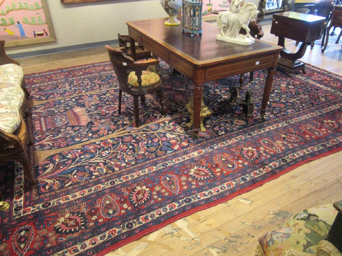 "Semi-Antique Persian ""Tree of Life"" Carpet - 2"