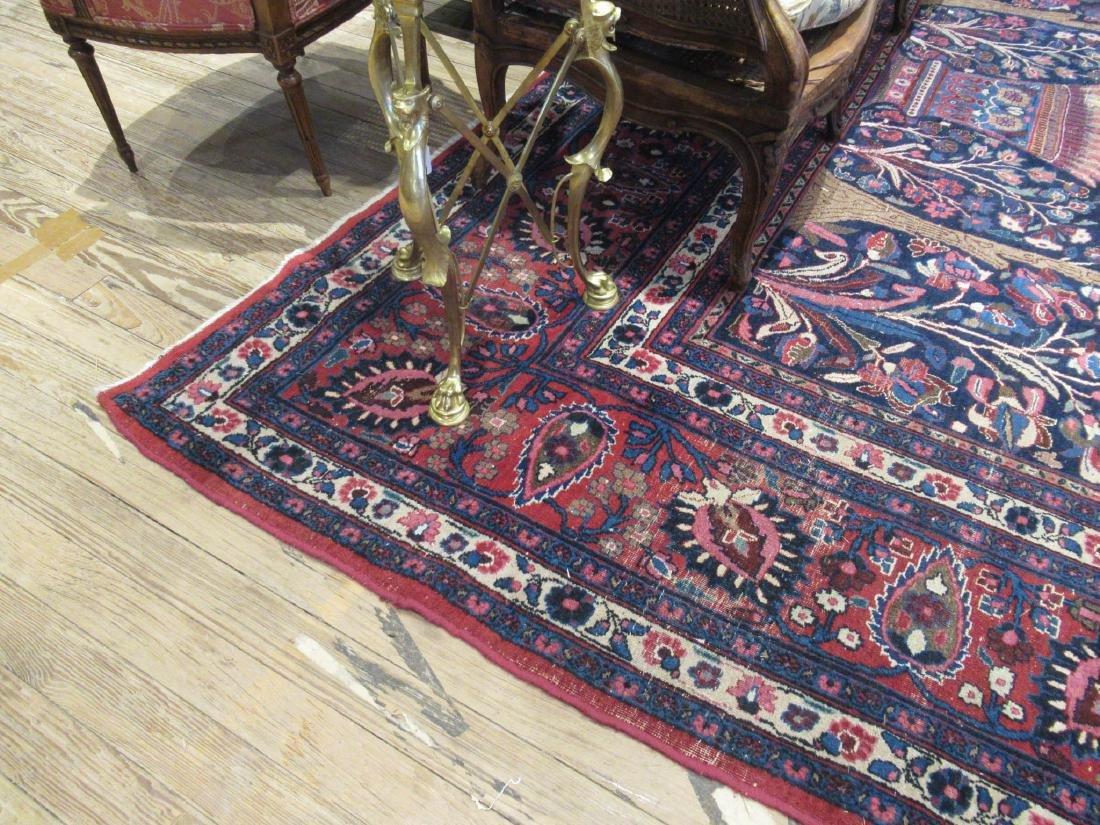"Semi-Antique Persian ""Tree of Life"" Carpet - 3"