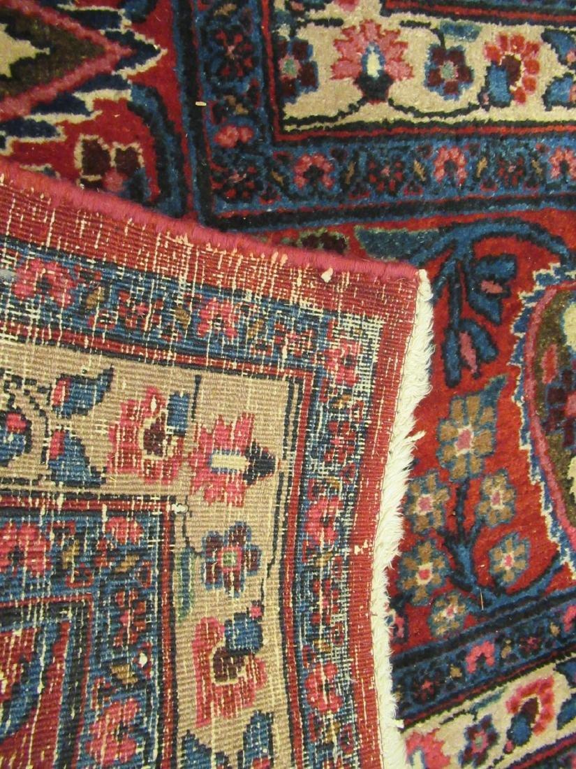"Semi-Antique Persian ""Tree of Life"" Carpet - 4"