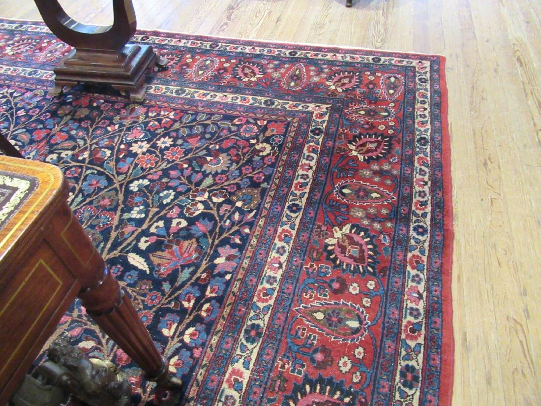 "Semi-Antique Persian ""Tree of Life"" Carpet - 5"