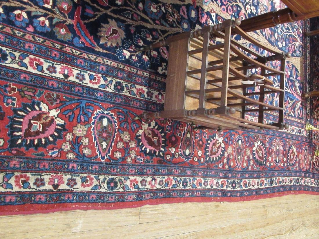 "Semi-Antique Persian ""Tree of Life"" Carpet - 7"
