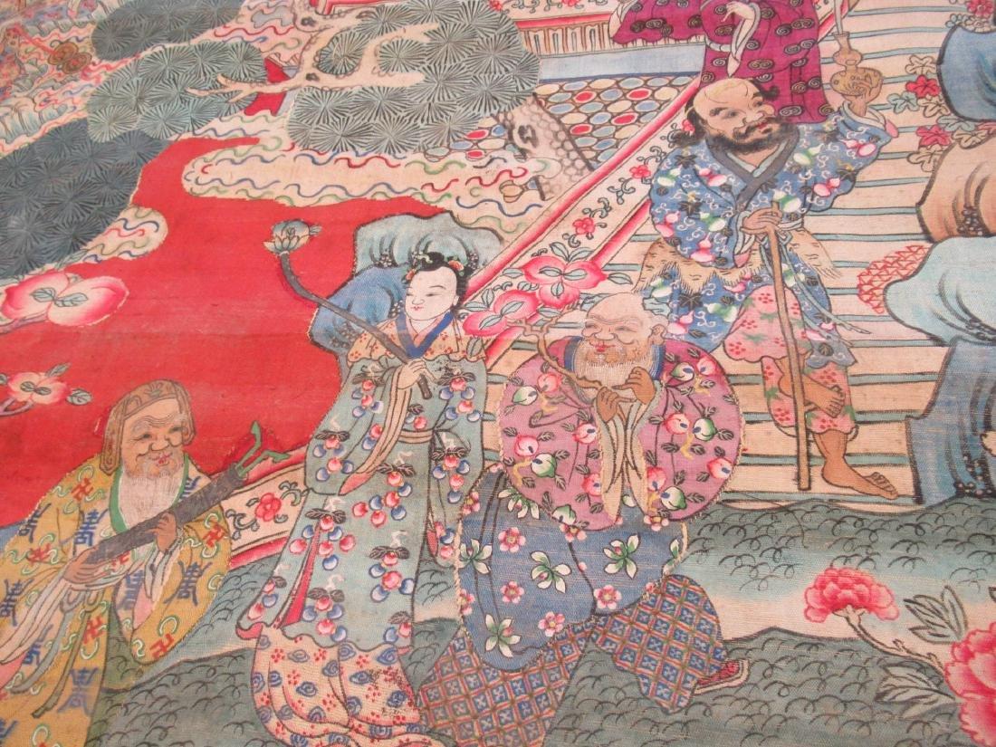 Chinese Kesi Panel of the Daoist Pantheon - 5