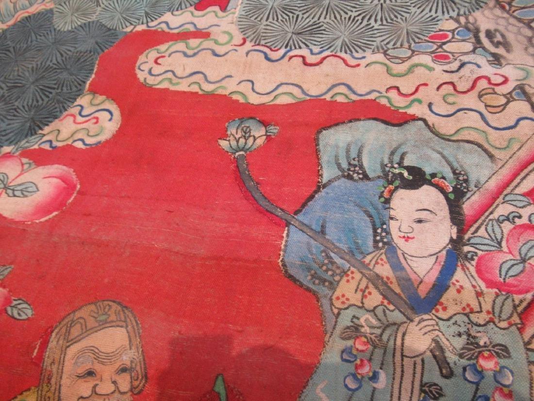 Chinese Kesi Panel of the Daoist Pantheon - 6