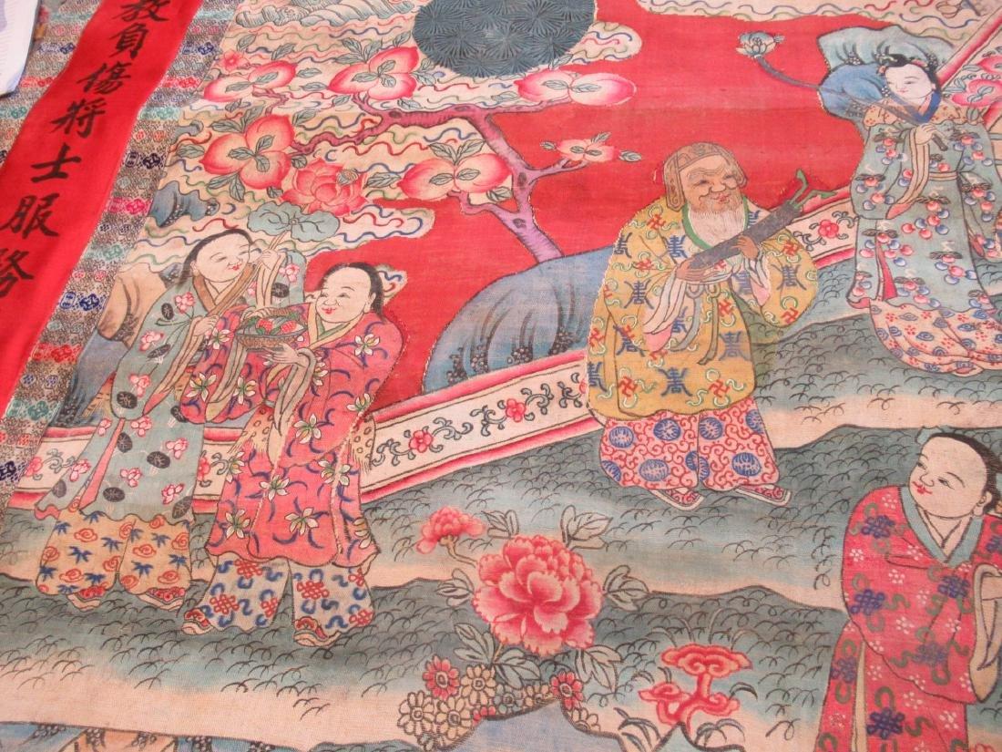 Chinese Kesi Panel of the Daoist Pantheon - 7