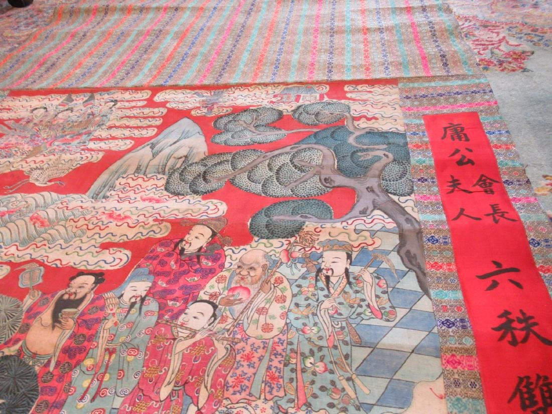 Chinese Kesi Panel of the Daoist Pantheon - 8