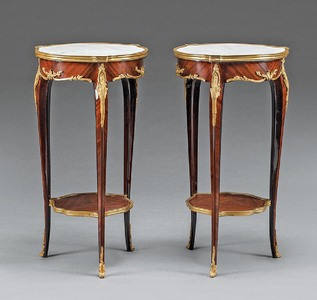 Bronze-Mounted Mahogany Occaisonal Tables