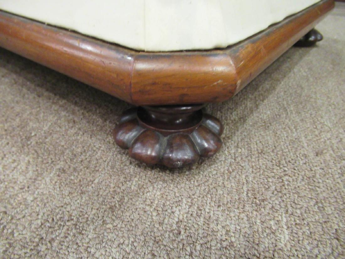 Pair of Regency-Style Mahogany Foot Stools - 3