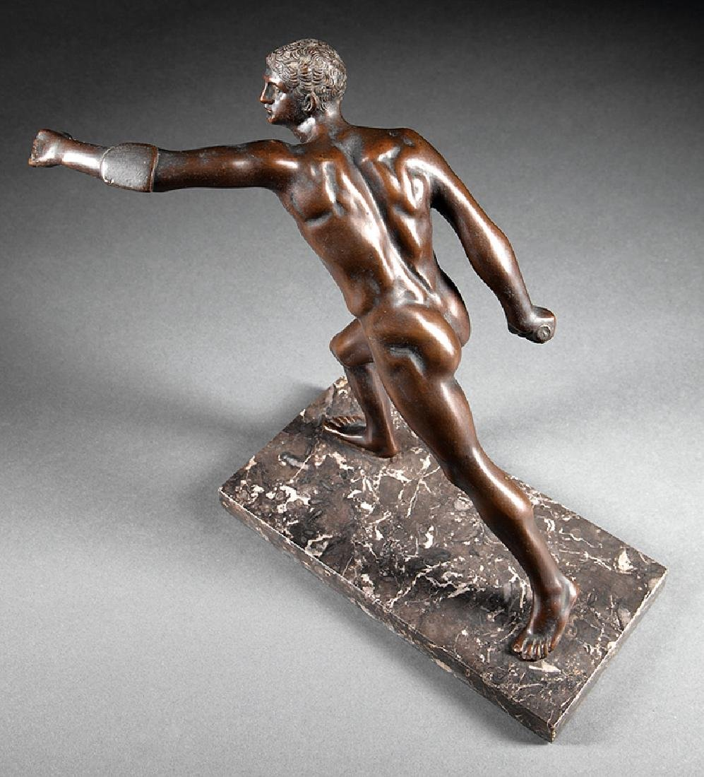 Bronze Figure of an Athlete