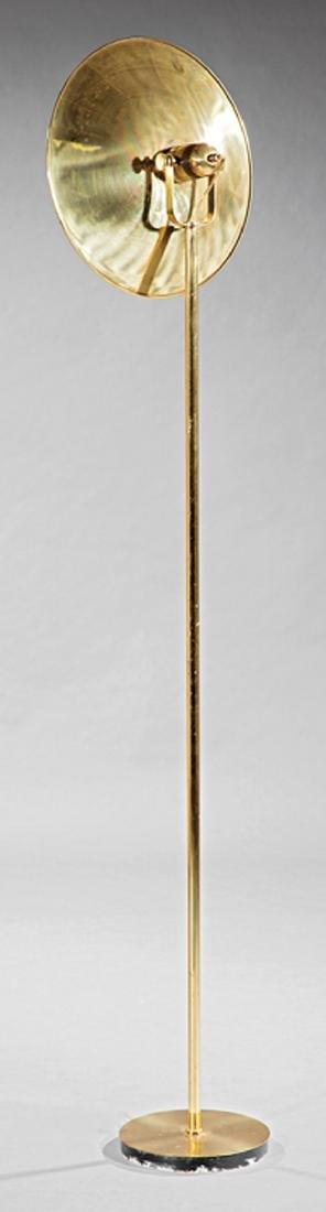 Mid-Century Modern Brass Floor Lamp - 2