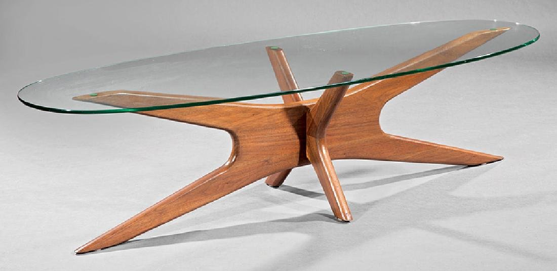 Adrian Pearsall Elliptical Coffee Table