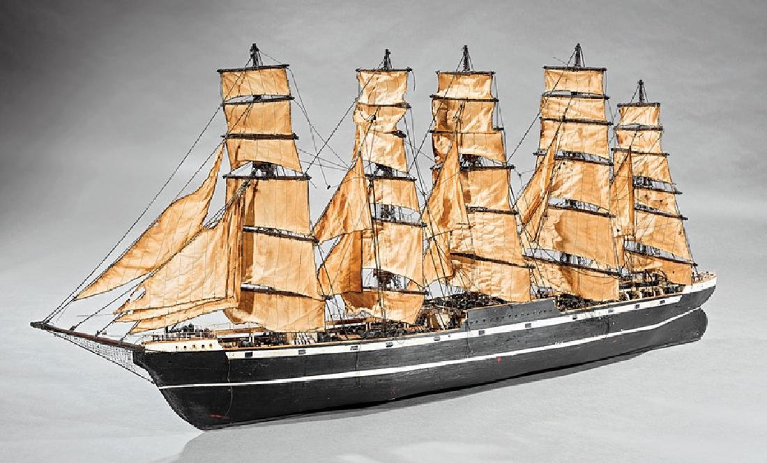 Large Model of a Clipper Ship