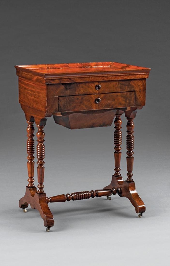 Louis Philippe Mahogany Work Table