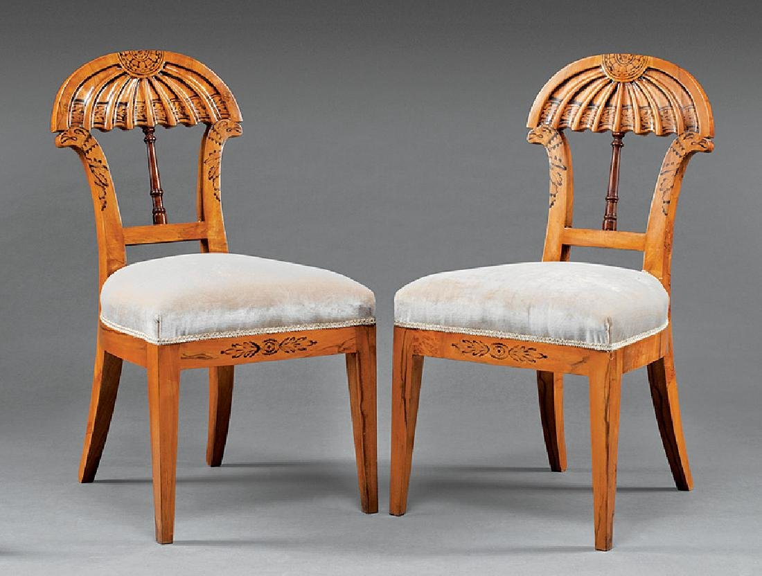 Twelve Biedermeier-Style Dining Chairs