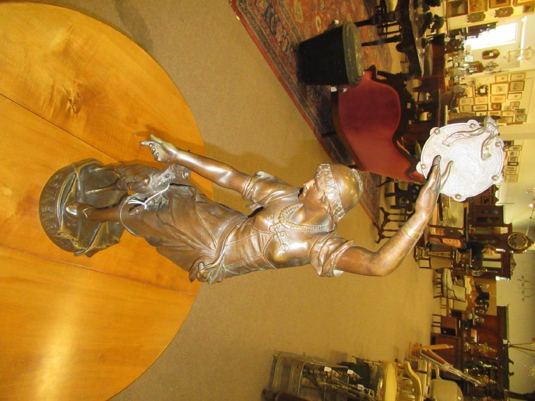 "Continental Bronze Figure of ""Esmeralda"" - 2"
