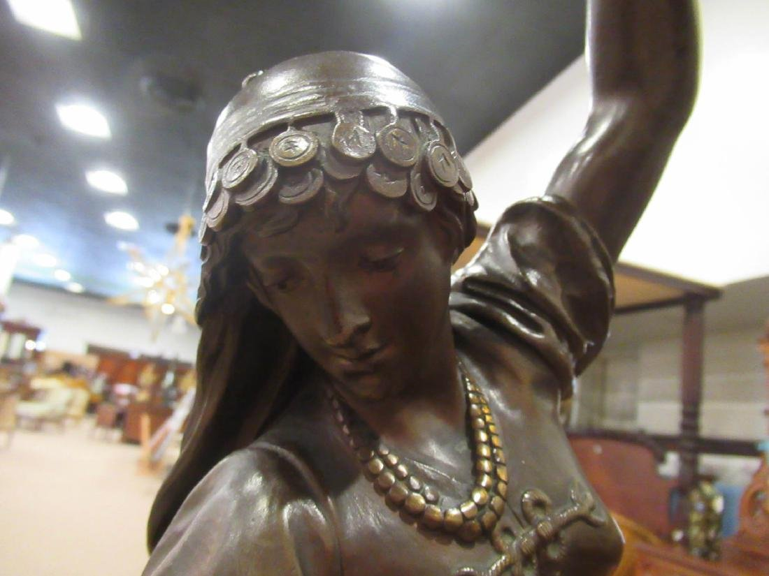 "Continental Bronze Figure of ""Esmeralda"" - 4"