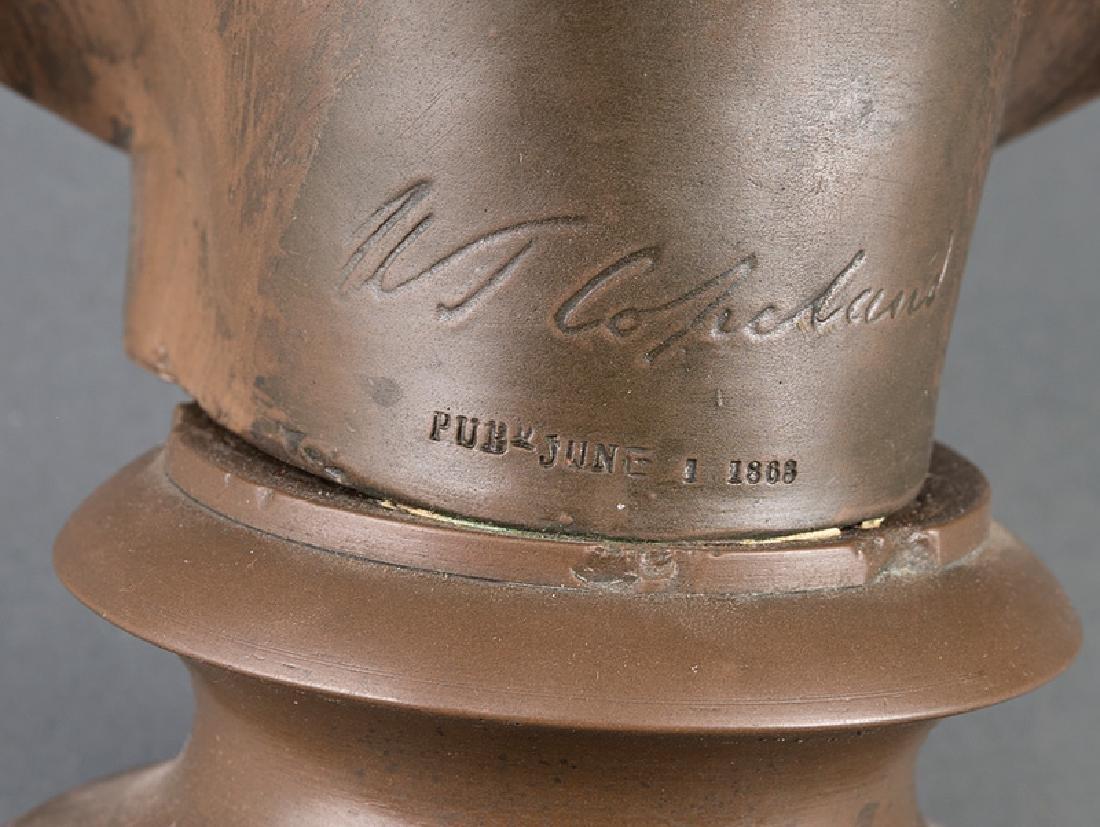 Bronze-Patinated Plaster Bust of Queen Alexandra - 2
