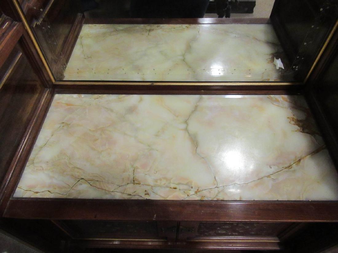 Rosewood Parlor Cabinet, attr. Pottier & Stymus - 5
