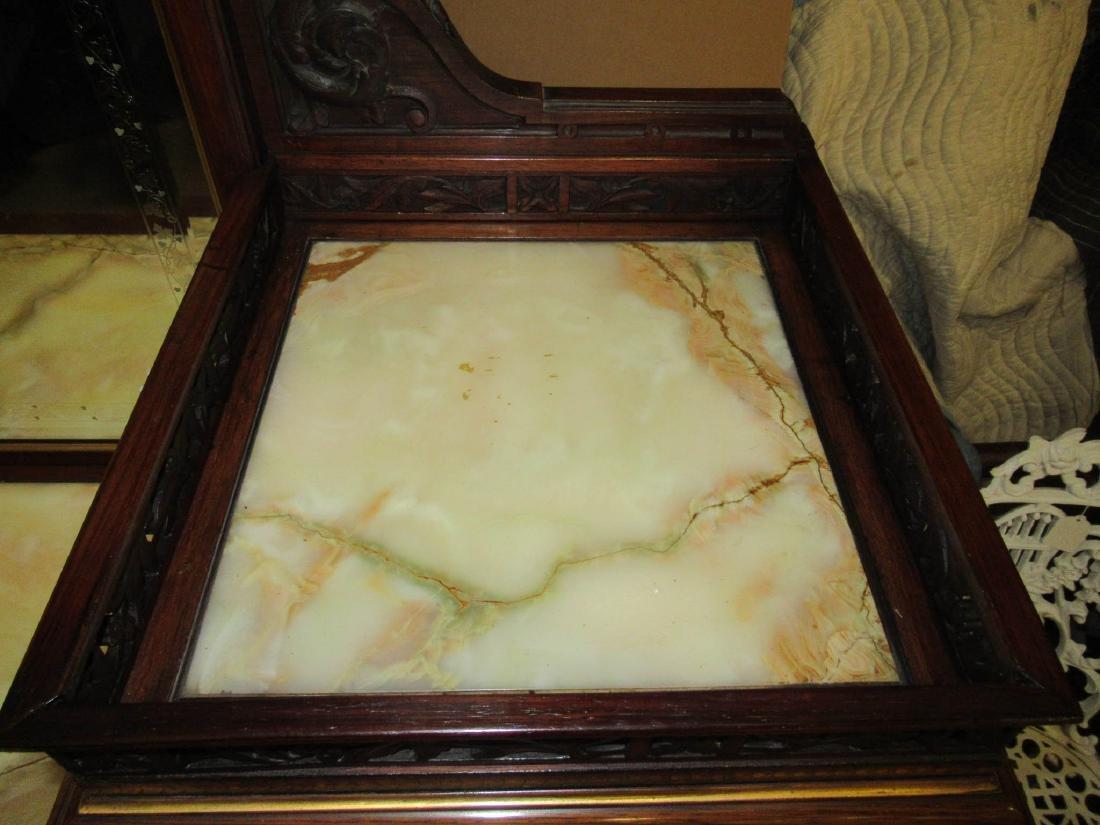 Rosewood Parlor Cabinet, attr. Pottier & Stymus - 6