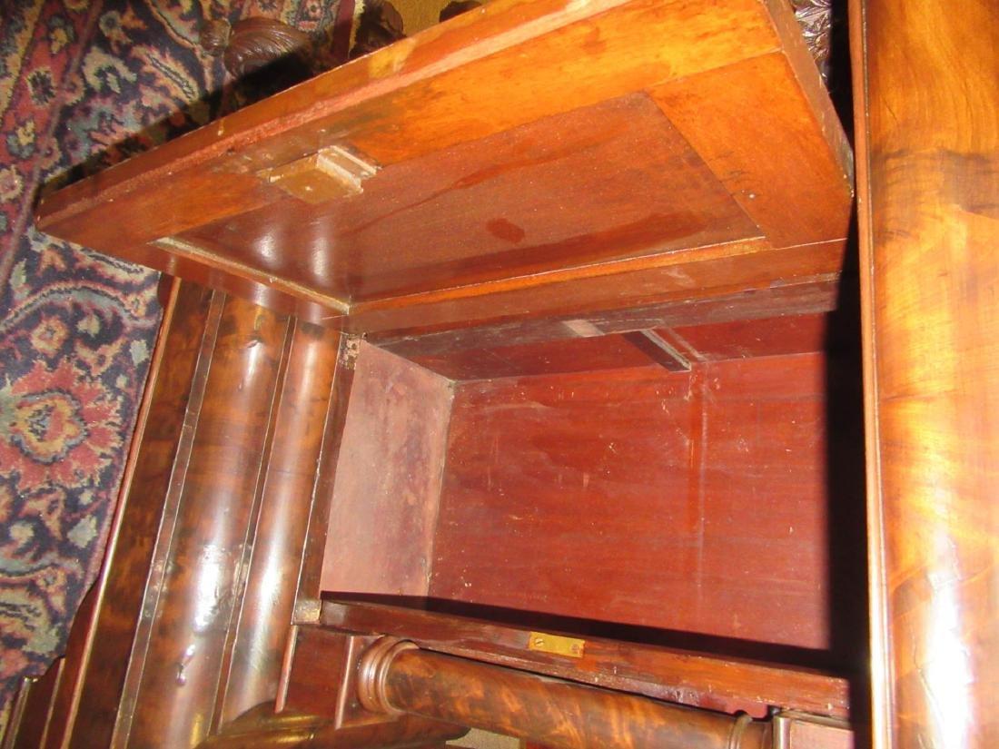 American Classical Figured Mahogany Mixing Tables - 3