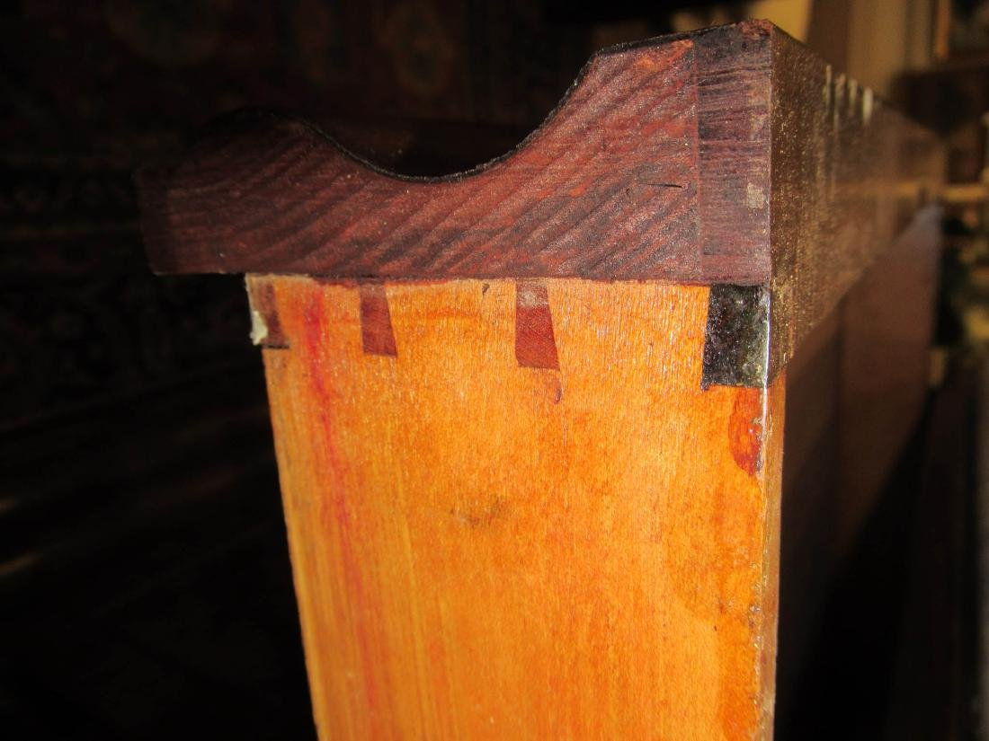 American Classical Figured Mahogany Mixing Tables - 6