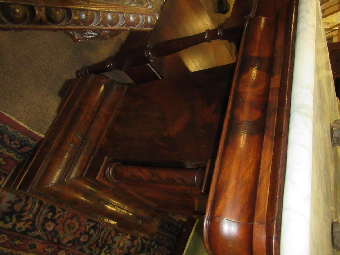 American Classical Figured Mahogany Mixing Tables - 7