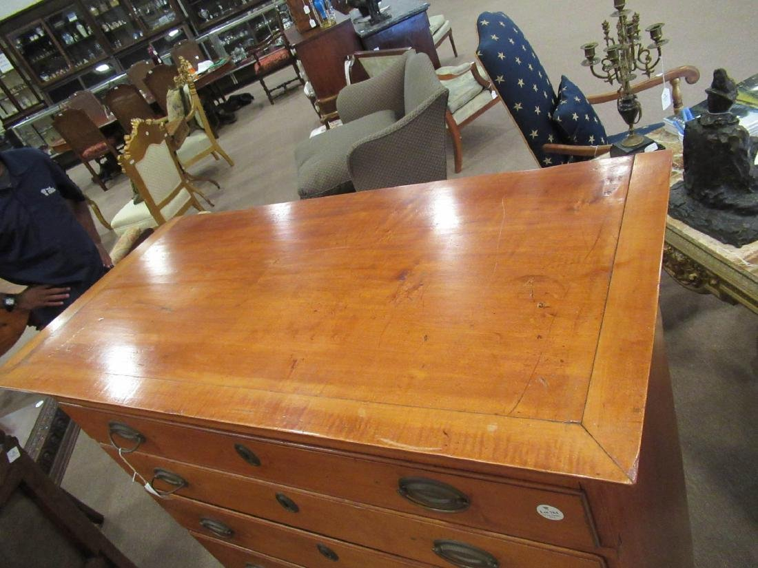 American Federal Cherrywood Chest of Drawers - 5
