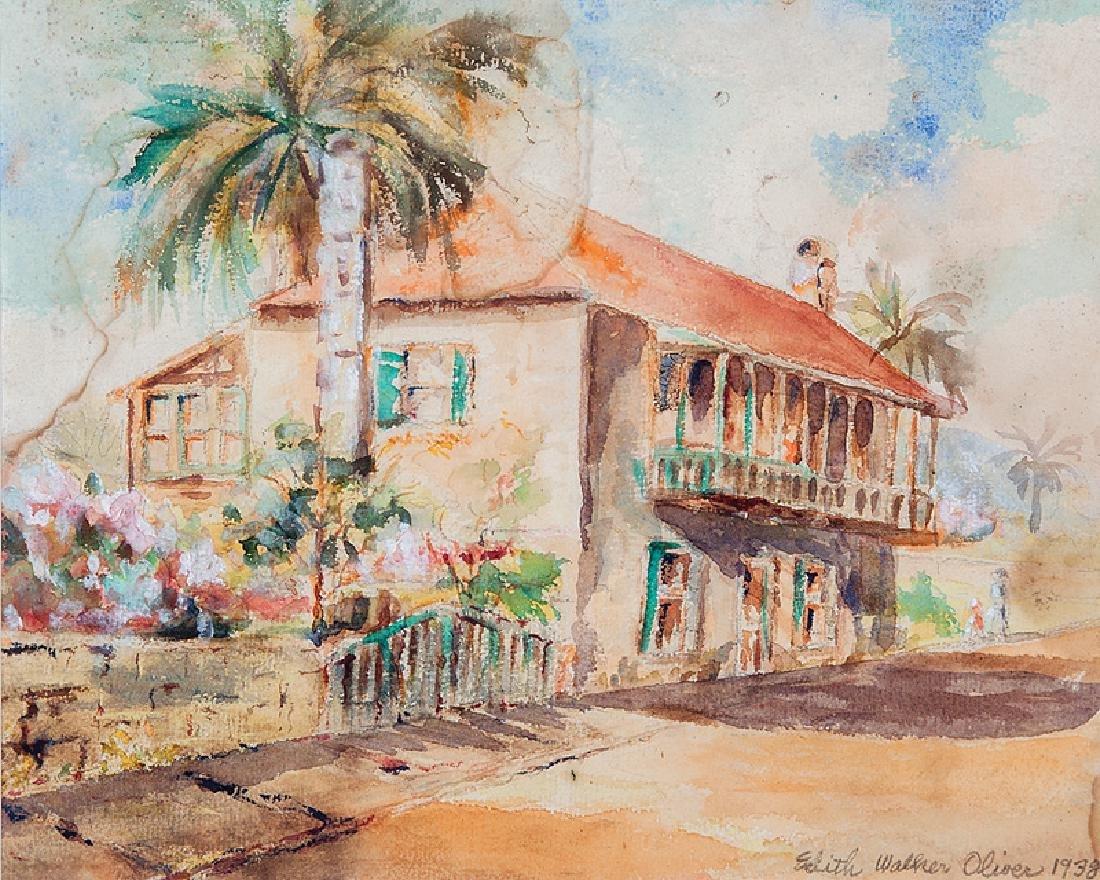 Edith Walker Oliver (American/Florida, 1889-1979)