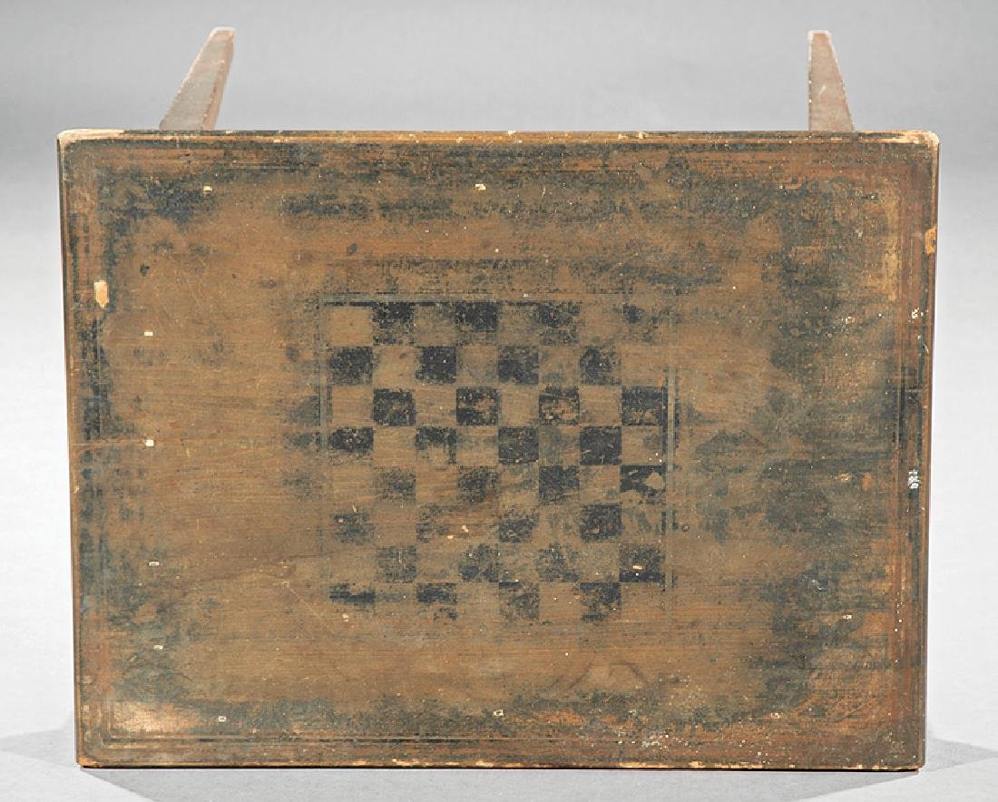 Southern Late Federal Pine and Poplar Games Table - 2