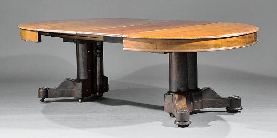 American Mahogany Extension Dining Table - 2