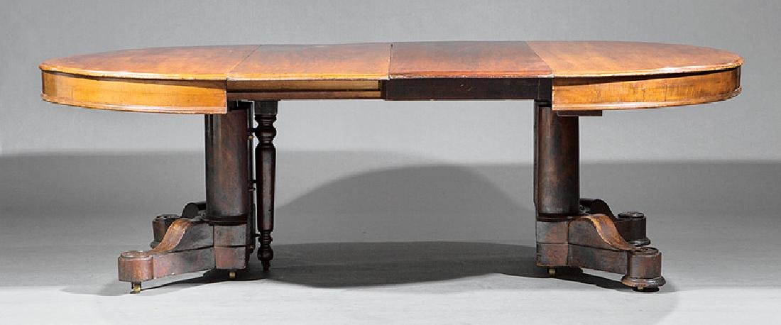 American Mahogany Extension Dining Table - 3