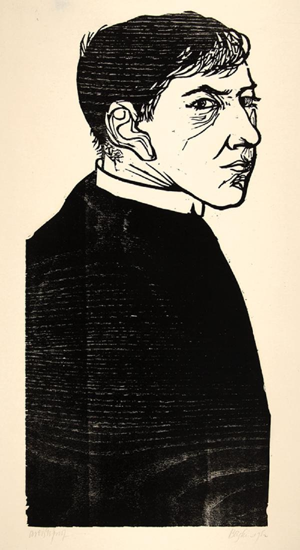 Leonard Baskin (American/New York, 1922-2000)