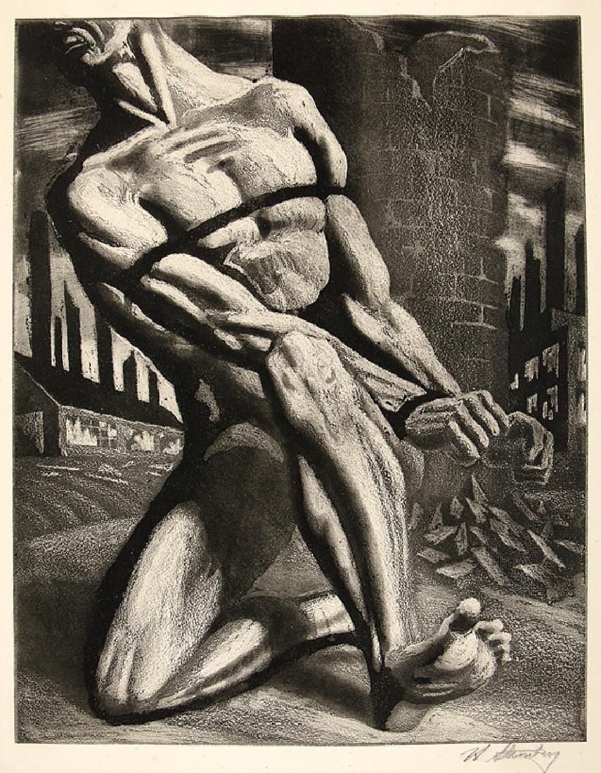 Harry Sternberg (American, 1904-2001)