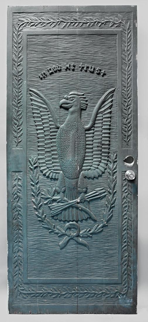 American Folk Art Door