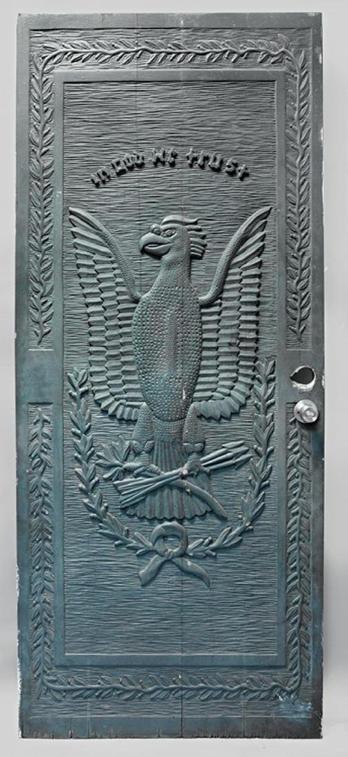 American Folk Art Door