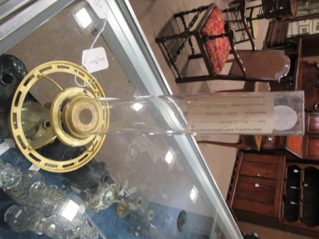 American Gilt Bronze Solar Lamp, attr. Dietz - 6
