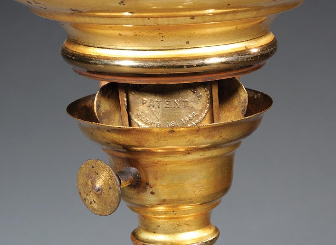 Gilt Brass Solar Lamp, marked L van Burschoten - 2