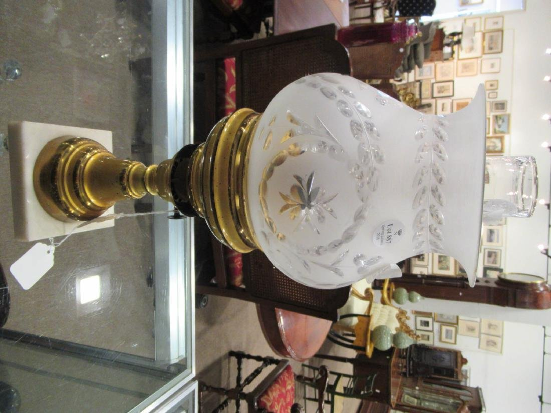 Gilt Brass Solar Lamp, marked L van Burschoten - 3