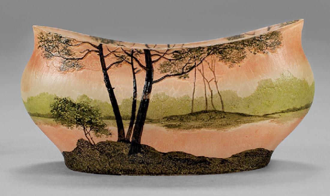 French Art Glass Bowl