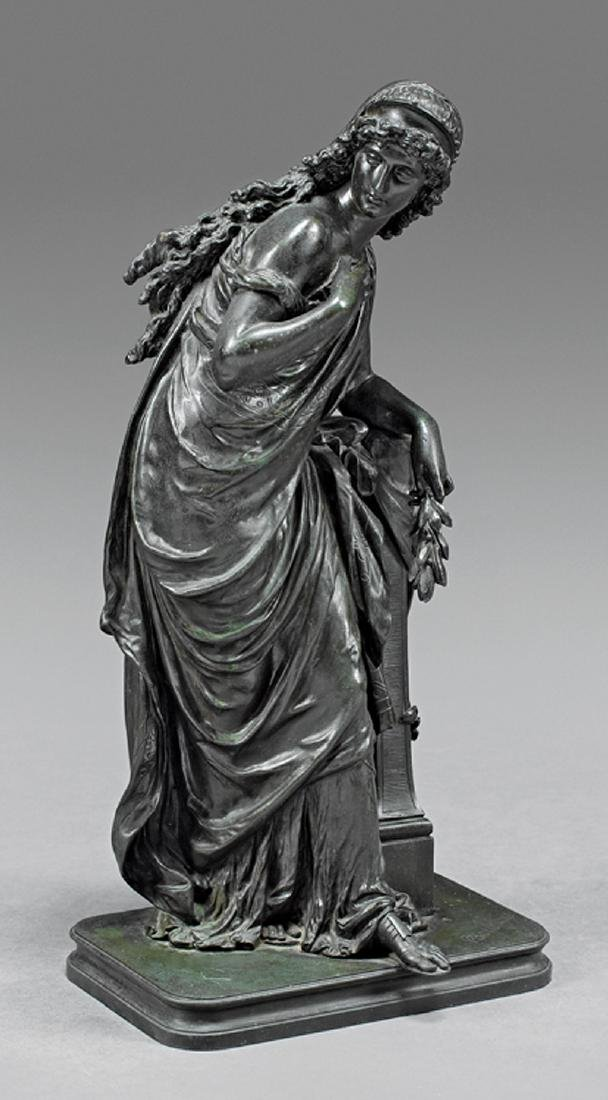 Bronze Figure of a Standing Lady