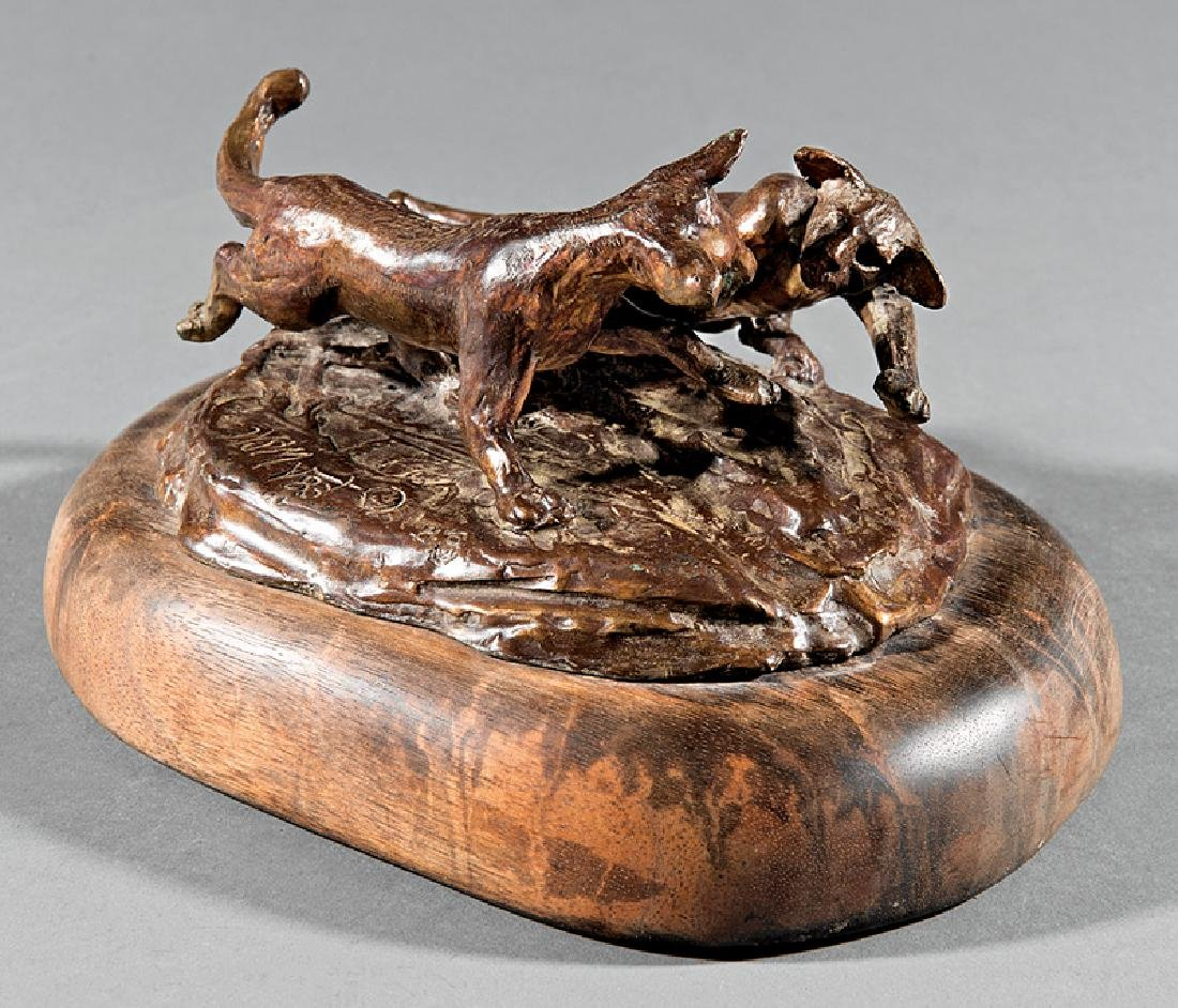 Bronze Figural Group of Cats - 2