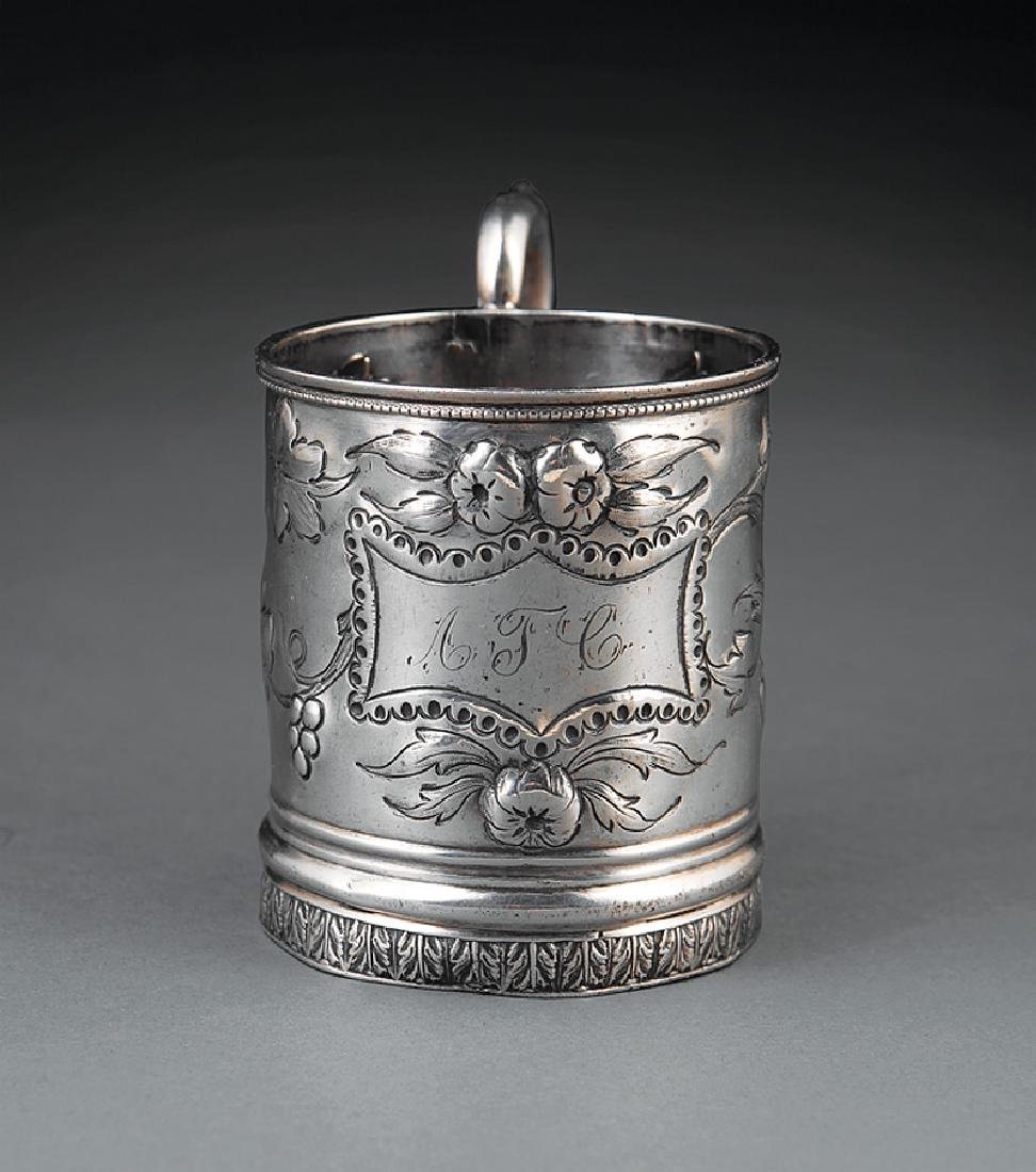 New Orleans Coin Silver Cup, Edward A. Tyler