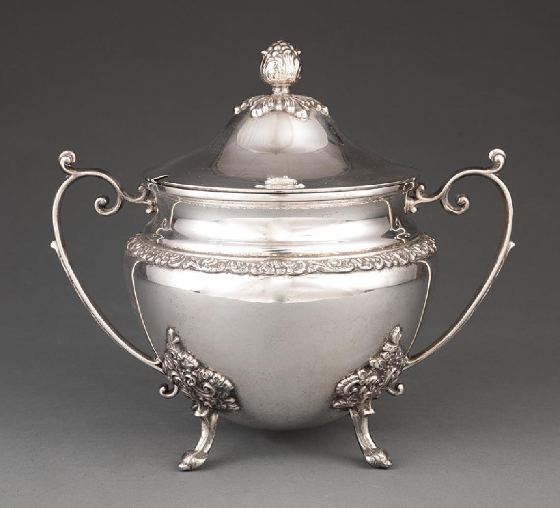 English Silverplate Covered Soup Tureen
