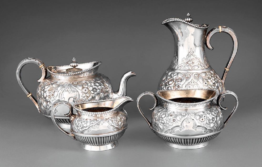 English Silverplate Tea Service