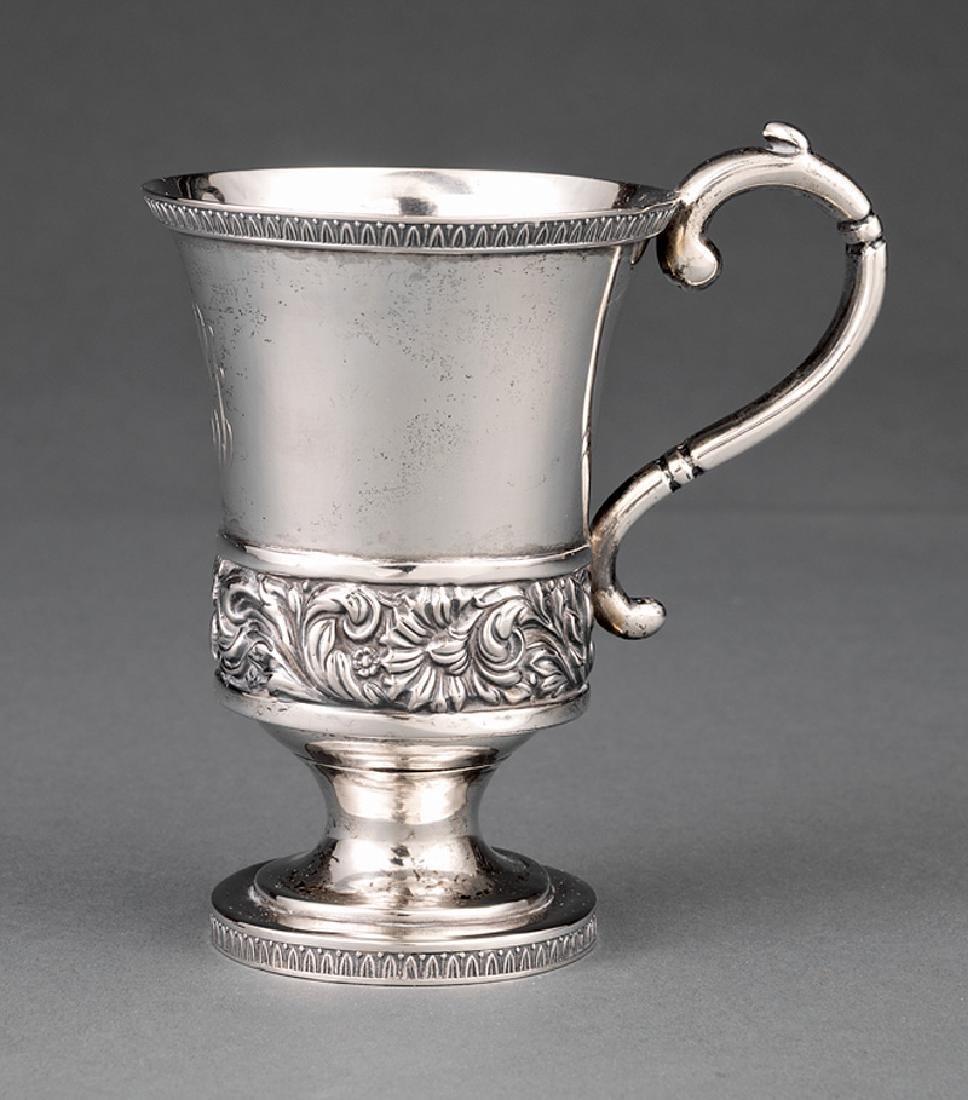 American Coin Silver Cup, Gerardus Boyce