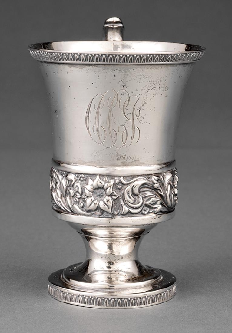 American Coin Silver Cup, Gerardus Boyce - 2