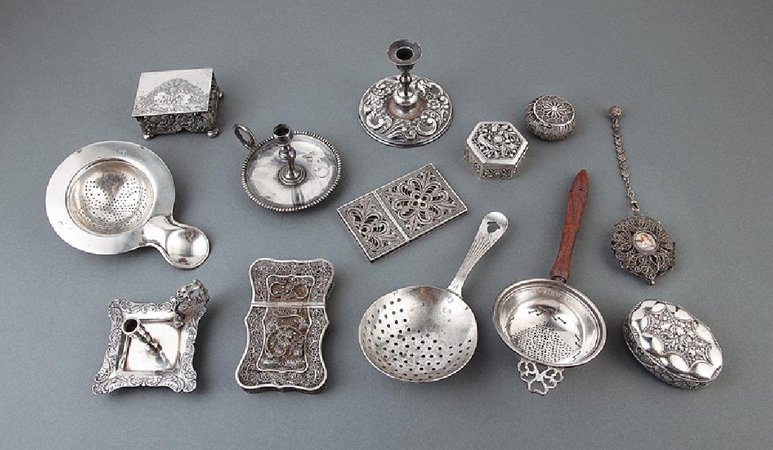 Group of Silver Objects