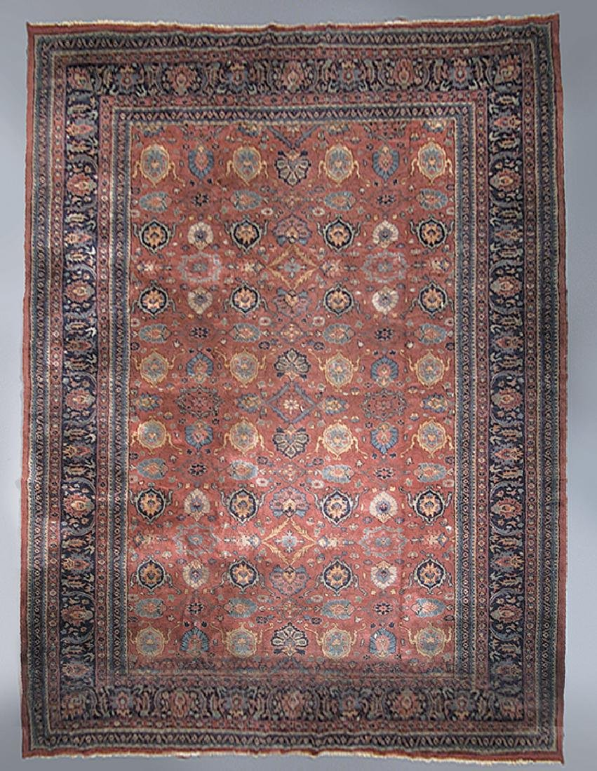 Semi-Antique Isparta Carpet