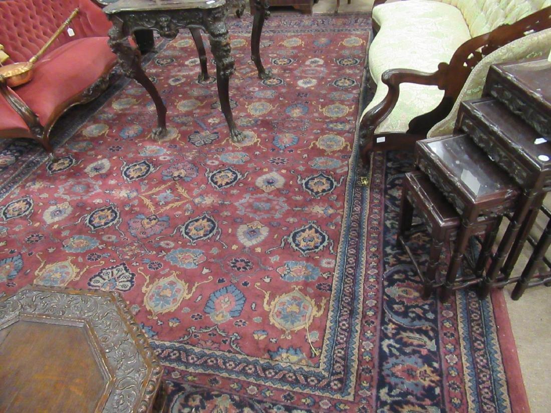 Semi-Antique Isparta Carpet - 4