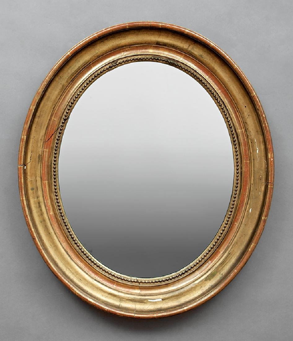 American Classical Giltwood Mirror